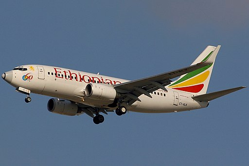 Boeing 737-760, Ethiopian Airlines AN1169978