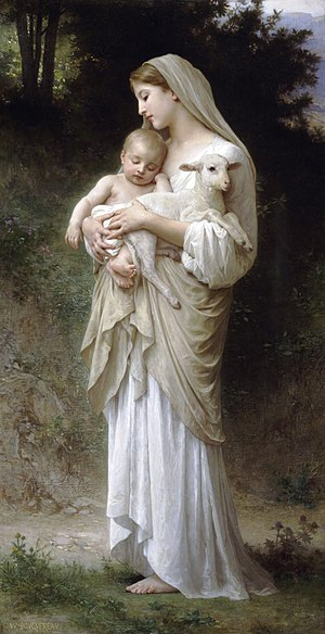 English: Bouguereau's L'Innocence. Both young ...
