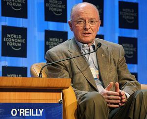DAVOS/SWITZERLAND, 23JAN08 - David J. O'Reilly...
