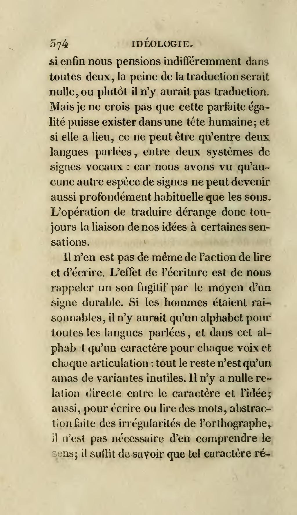 Y Aurait-il Orthographe : aurait-il, orthographe, Page:Destutt, Tracy, Élémens, D'idéologie,, Première, Partie.djvu/410, Wikisource