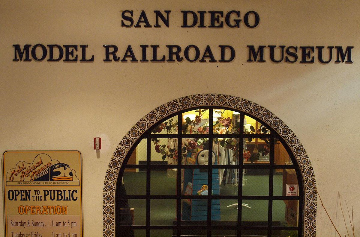 San Diego Model Railroad Museum  Wikipedia