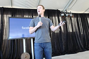 Mark Zuckerberg, founder and CEO Facebook, Alain Berttrand, Modus Operandi, Mauritius, Social Media