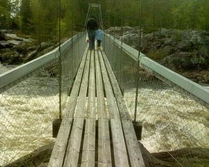 Hängbron över Hylströmmen