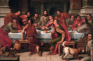 The Last Supper (Luke 22:21-23)