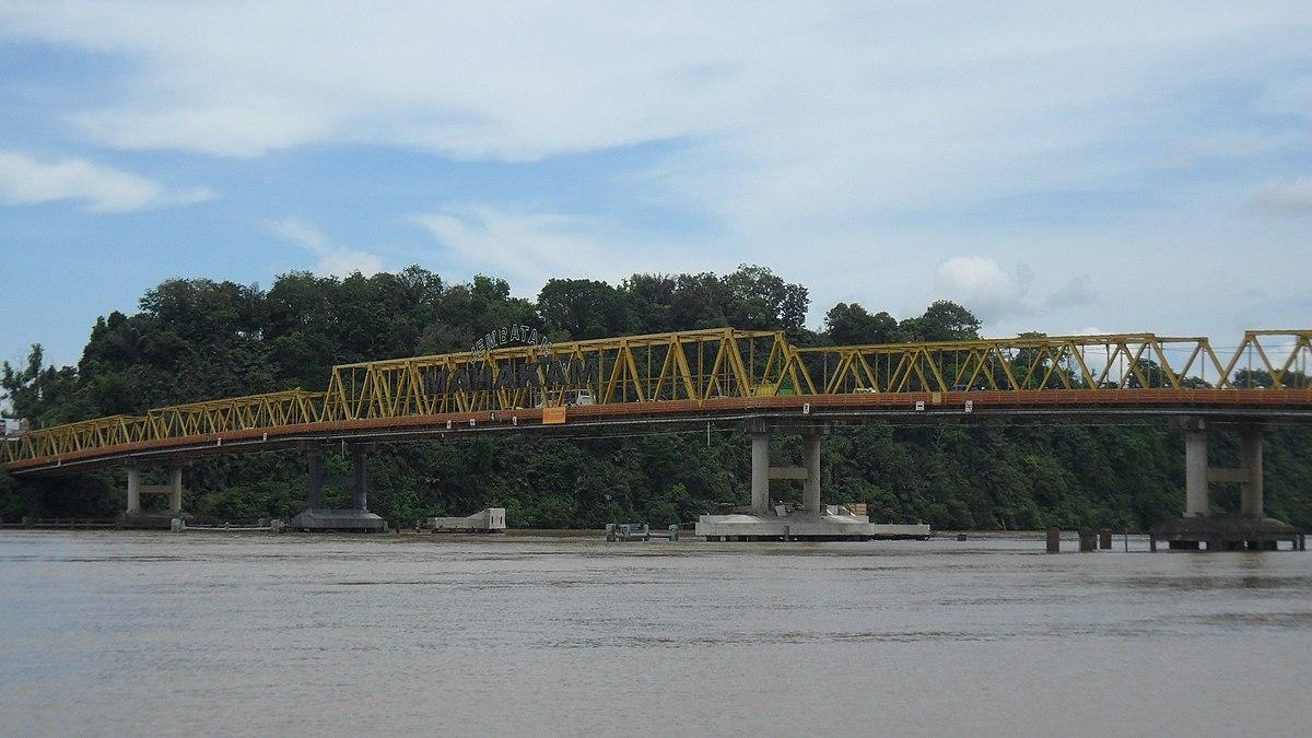 Jembatan Mahakam Wikipedia bahasa Indonesia