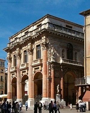 Palazzo del Capitanio, Vicenza. Arch. Andrea P...