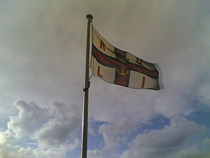 Flag of the Royal National Lifeboat Institution