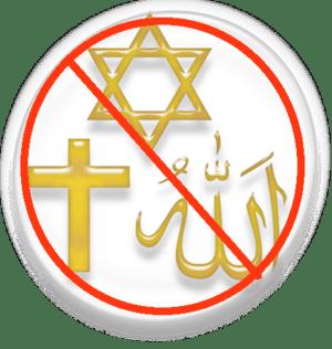 English: Symbol of the three Abrahamic religions.