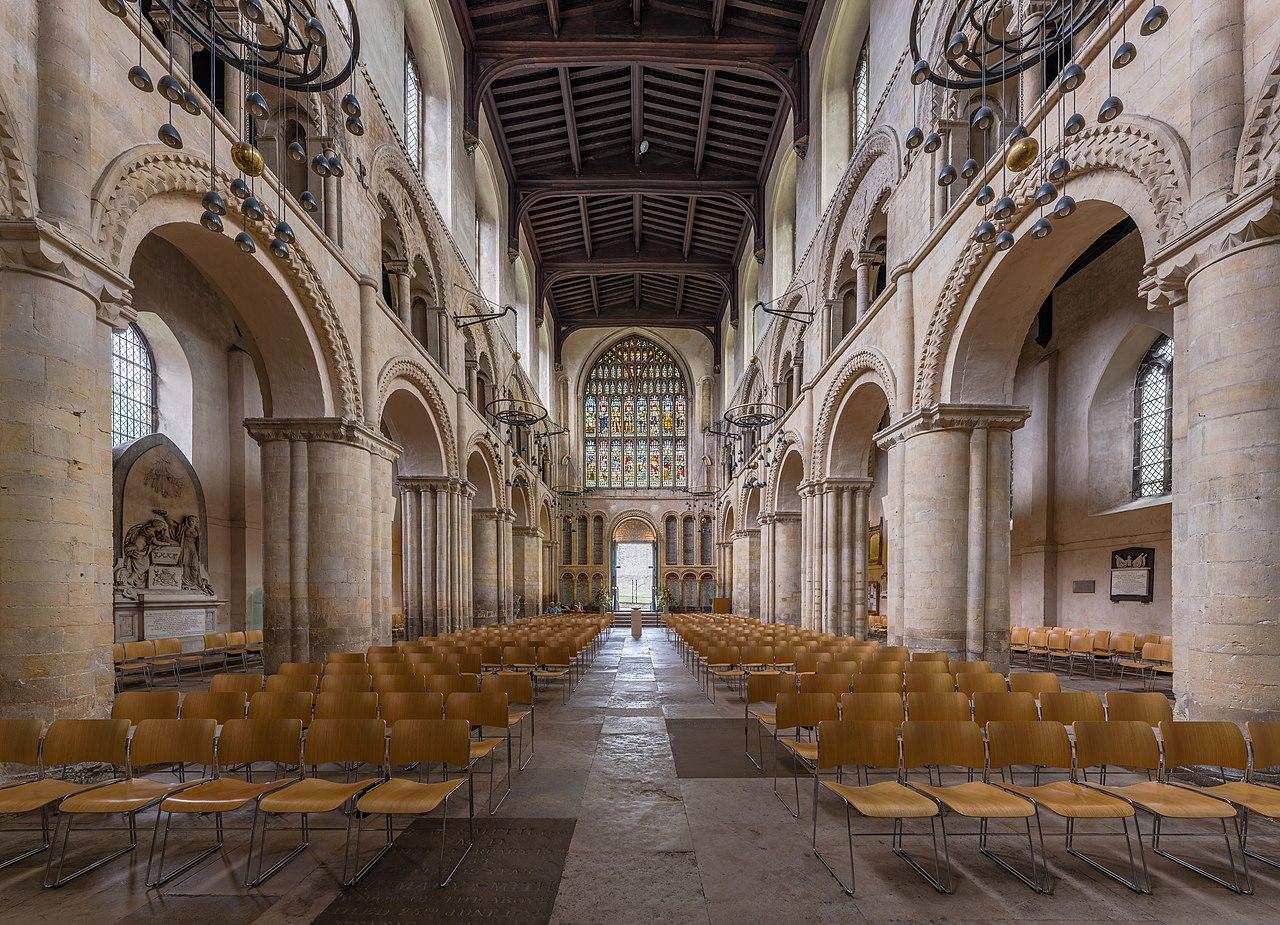 FileRochester Cathedral Nave 2 Kent UK  Diliffjpg