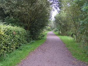 Sett Valley Trail near Birch Vale