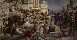 Cristianos perseguidos por Nerón