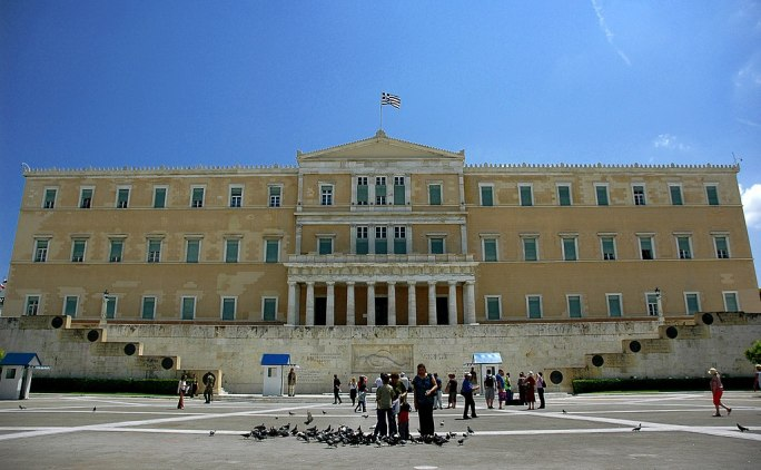 The Greek Parliament in Athens - panoramio
