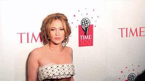 Time 100 2006 gala, Jennifer Lopez.