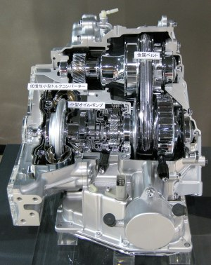 Toyota K CVT transmission  Wikipedia