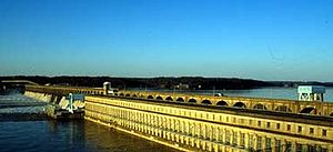 Wilson Dam is a part of the Tennessee Valley A...