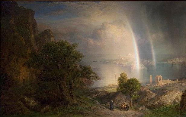 """The Aegean Sea"" by Frederic Edwin Church"
