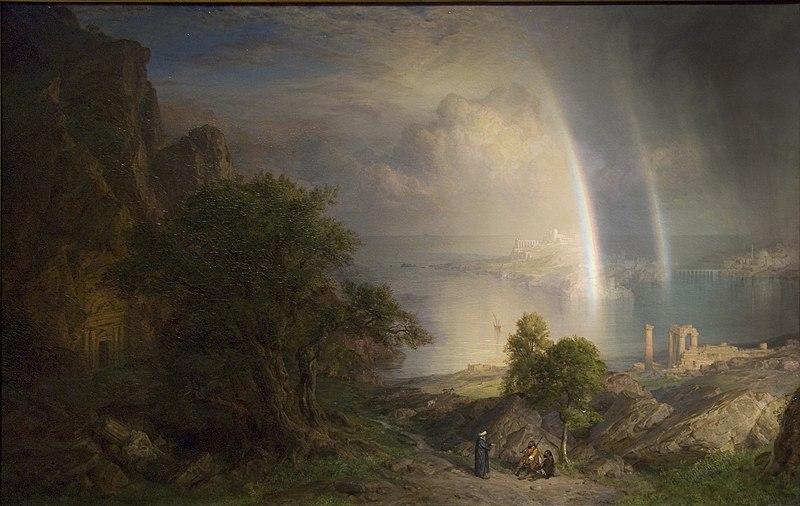 The Aegean Sea by Frederic Edwin Church, c. 1877