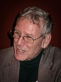 Amos Oz, 7 november 2004, Literaturhaus, MünchenFoto: Shannon