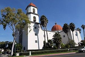 English: Basilica San Juan Capistrano, Califor...