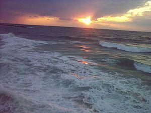 English: Beaches of Tel Aviv - Tel Aviv Harbor...