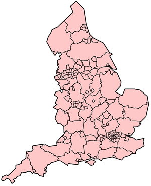 Map Of Uk Local Authorities.Uk Local Authorities And Shared Services Cost Cutting Myth Or