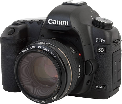 Canon EOS 5D Mark II with 50mm 1.4