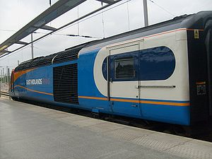 East Midlands Trains Class 43 Power Car No. 43...