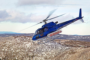 Eurocopter A350B3. This vehichle is used at th...