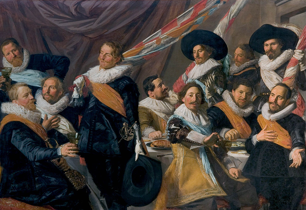 The Banquet Of The Officers Of The St George Militia