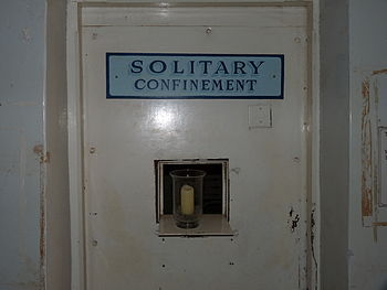English: The Solitary Confinement cell of the ...
