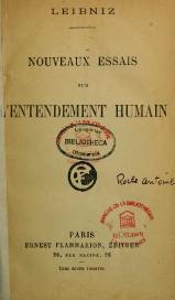Essai Sur L Entendement Humain : essai, entendement, humain, Livre:Leibniz, Nouveaux, Essais, L'entendement, Humain,, 1921.djvu, Wikisource