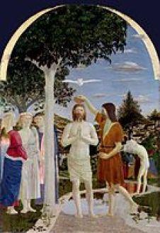 Η Βάπτιση, 1448-1450, Λονδίνο, Εθνική Πινακοθήκη