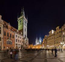 Old Town Square Prague Czech Republic