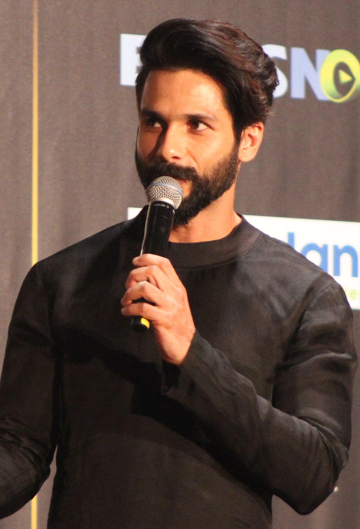 Shahid Kapoor Wikipedia