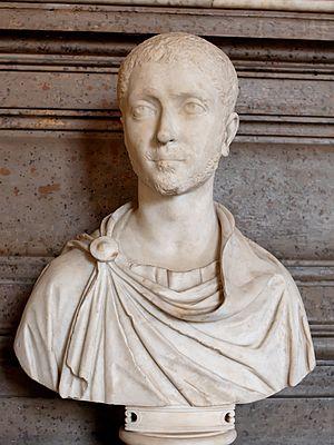 Portrait of Alexander Severus. Marble, Roman a...