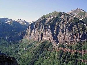 High Above Telluride, Colorado