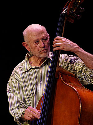 English: Barre Phillips, 2008, moers festival