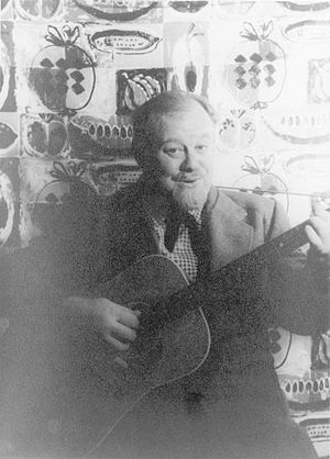 Burl Ives, American actor and folk singer
