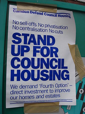 Camden Defend Council Housing Campaign Bill