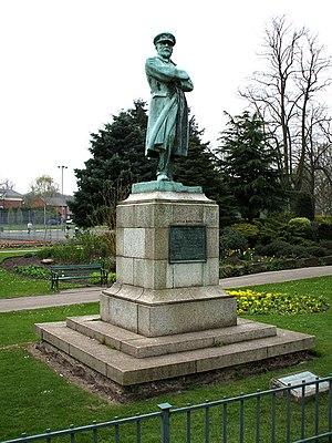 Captain Edward Smith statue, Beacon Park, Lich...