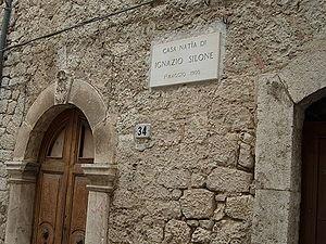 Casa natìa di Ignazio Silone