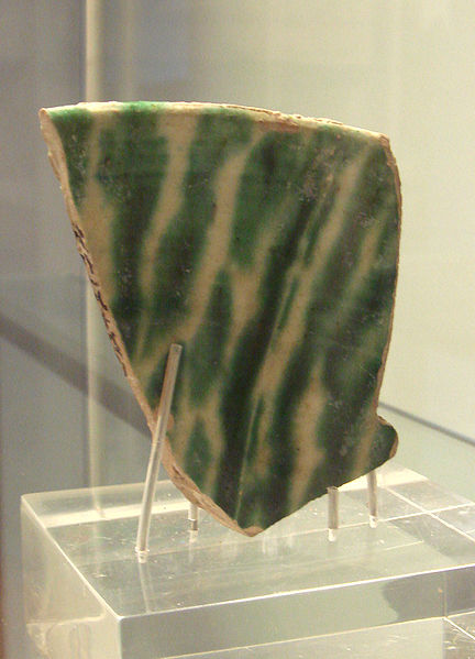 File:Chinese sancai sherd 9th 10th century found in Samarra.jpg