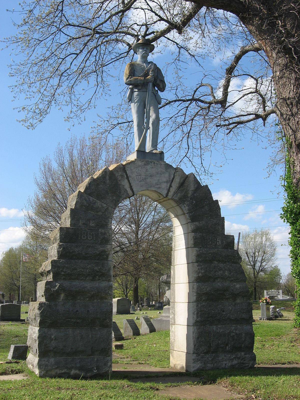 Confederate Memorial In Fulton Wikipedia