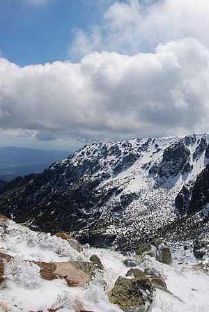 English: A view of Serra da Estrela, Portugal