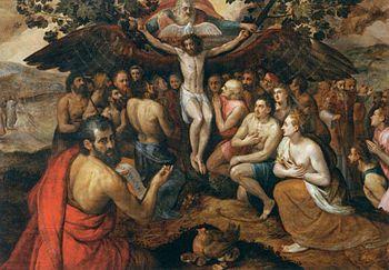 Frans Floris - The Sacrifice of Jesus Christ, ...