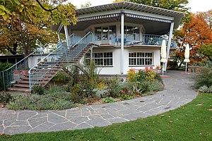 Freibad Letzigraben Pavillon 1947 Max Frisch