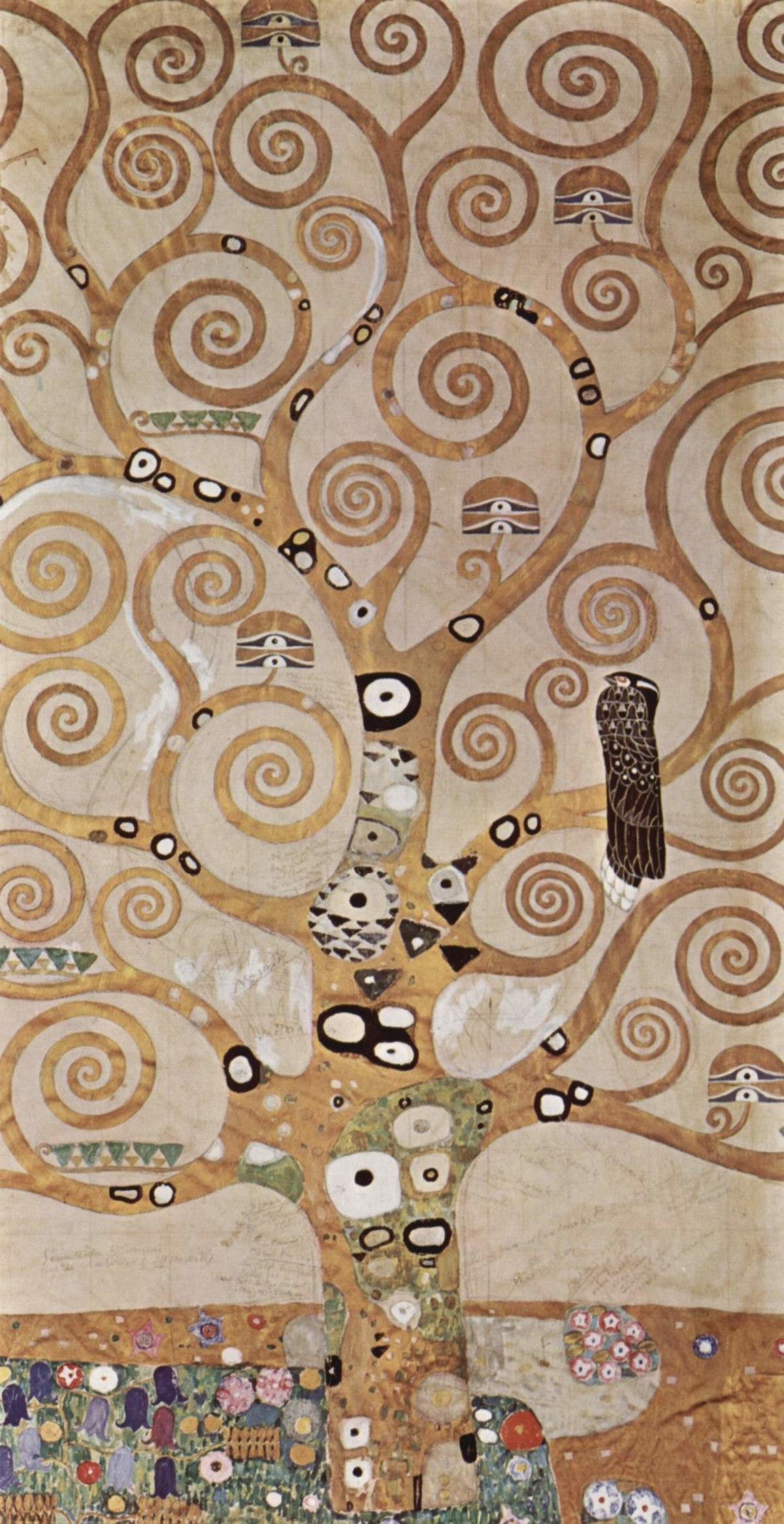 L'arbre De Vie De Klimt : l'arbre, klimt, Life,, Stoclet, Frieze, Wikipedia