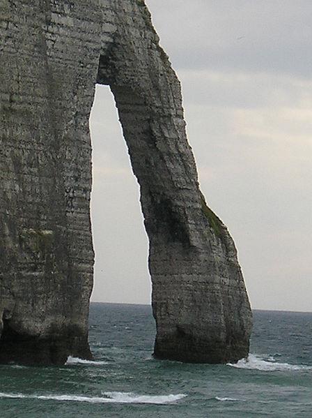 Etretat grande marée
