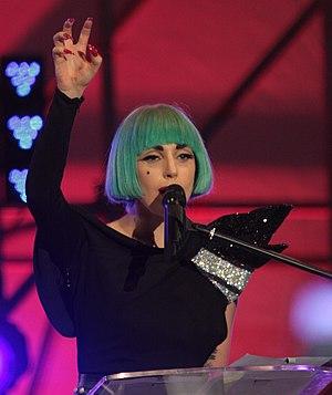Lady Gaga's album, Born This Way, was the high...