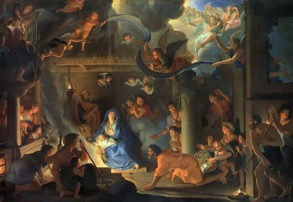 File Le Brun Charles - Adoration Of Shepherds 1689
